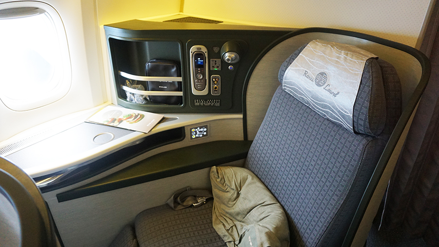 Eva Air Business Class Boeing 777 14
