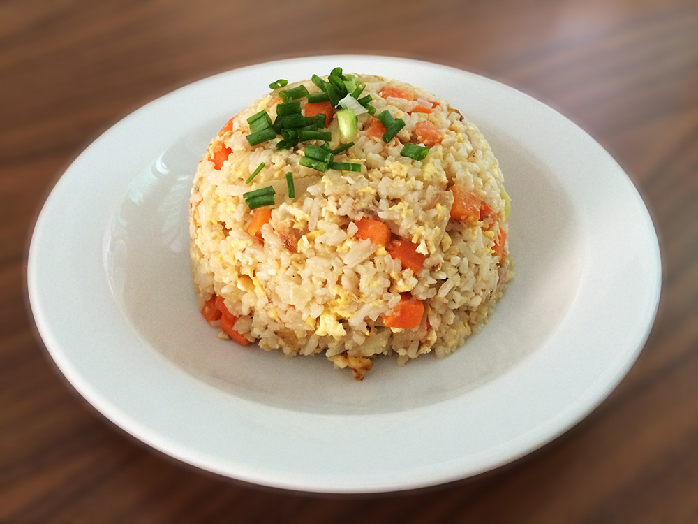Fried Rice and Roasted Pork with Thai Spice Sauce 11