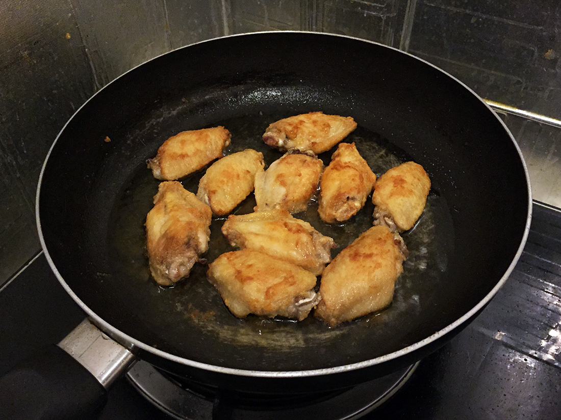 Fried Chicken Wings With Salt 8