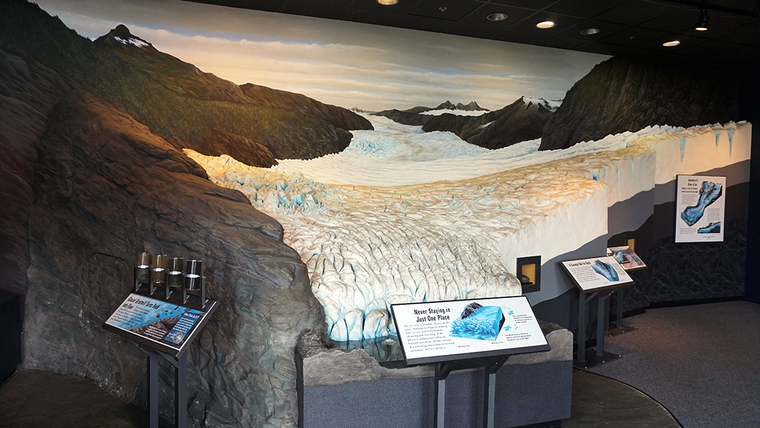 Mendenhall Glacier Visitor Center 11