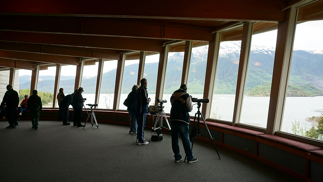 Mendenhall Glacier Visitor Center 16