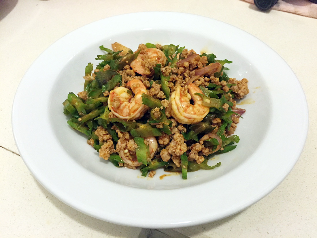 Wing Bean Shrimp Salad 12
