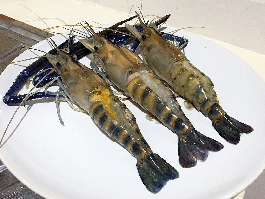 Baked River Prawn with Cheese 4