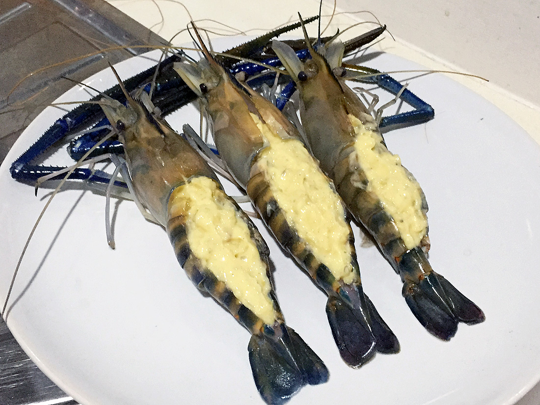 Baked River Prawn with Cheese 5