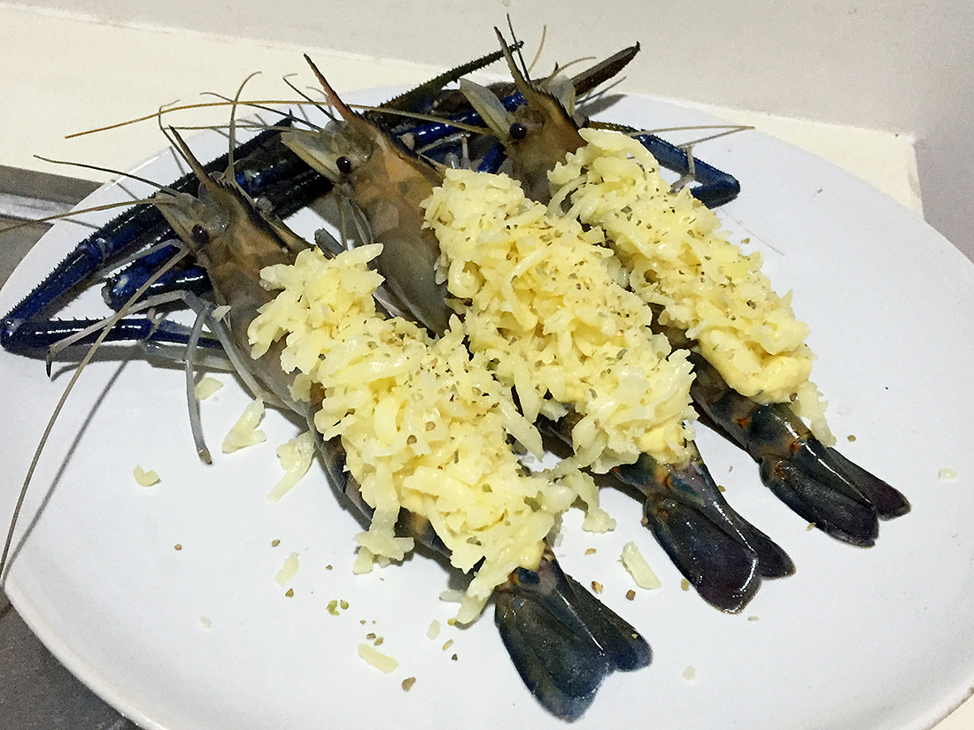 Baked River Prawn with Cheese 6