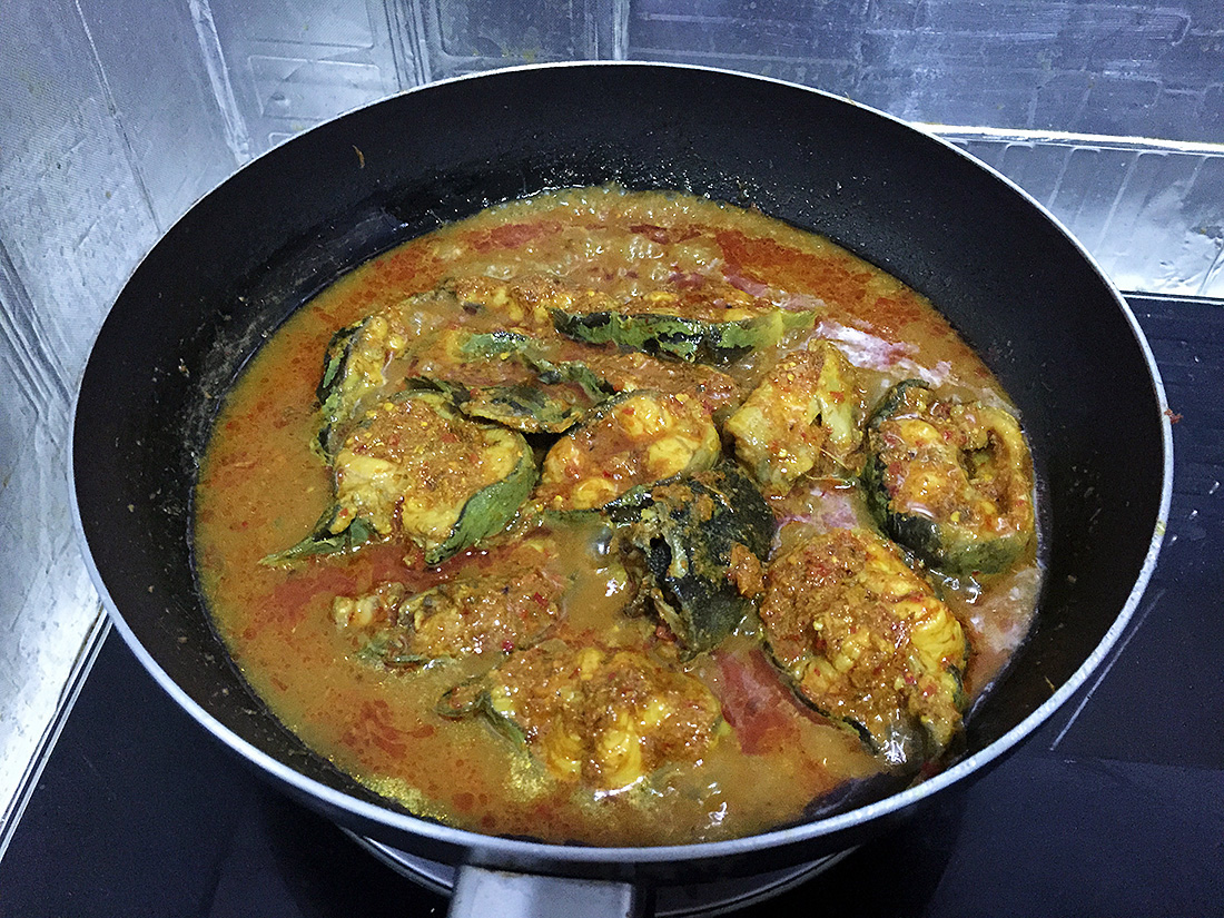 Catfish Curry with Cumin Leaves 11