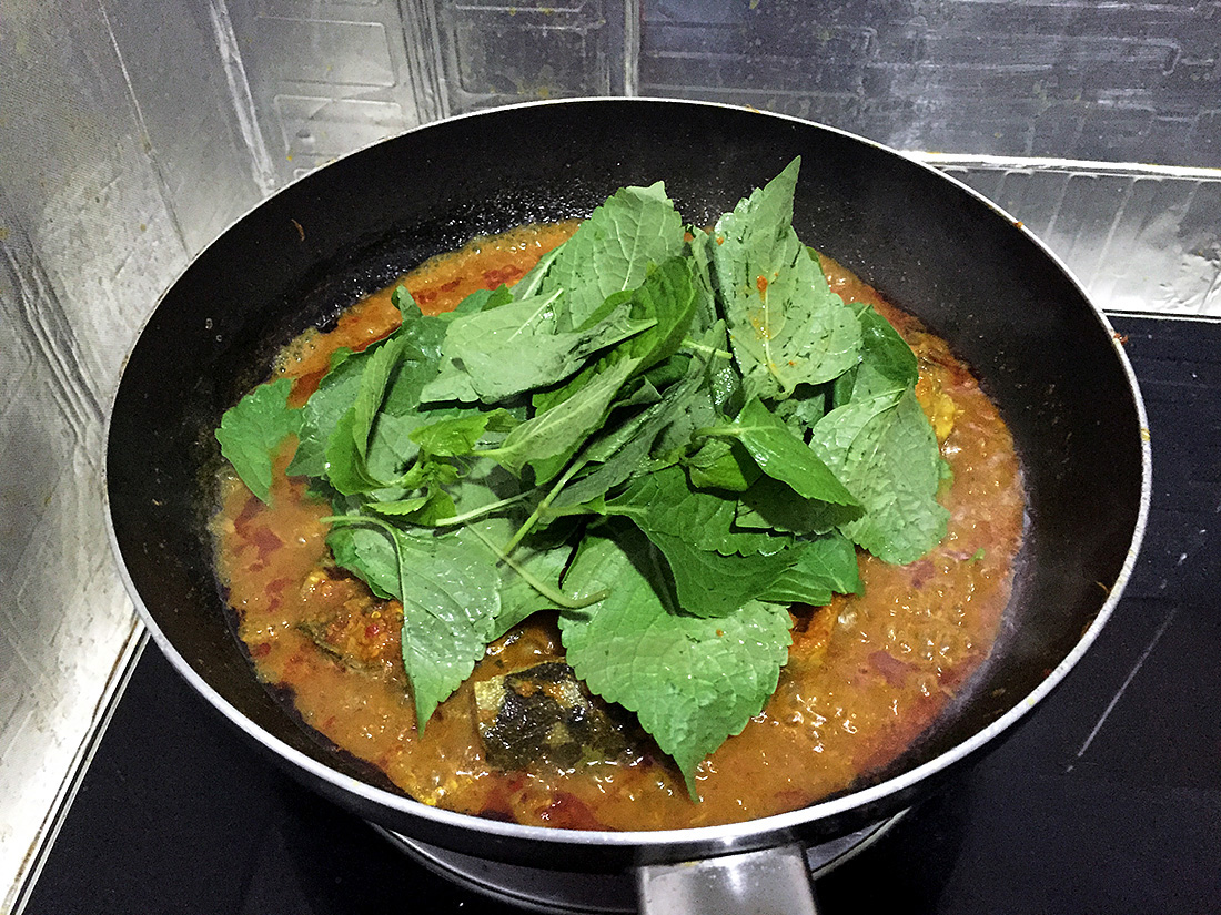 Catfish Curry with Cumin Leaves 12
