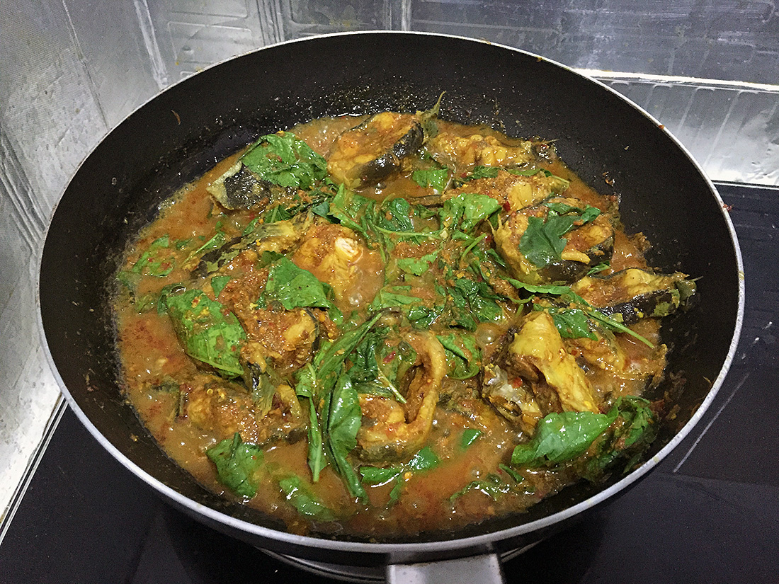 Catfish Curry with Cumin Leaves 13