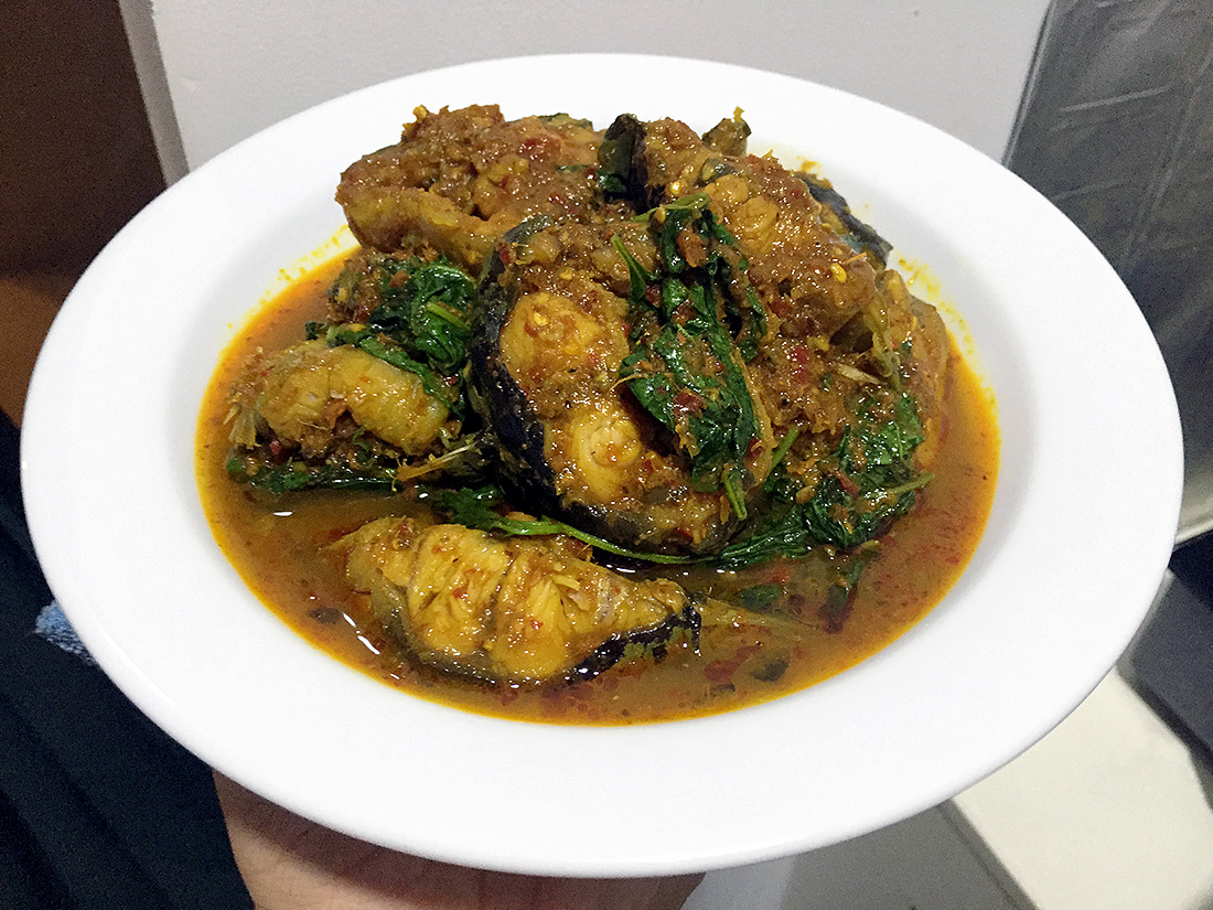 Catfish Curry with Cumin Leaves 14
