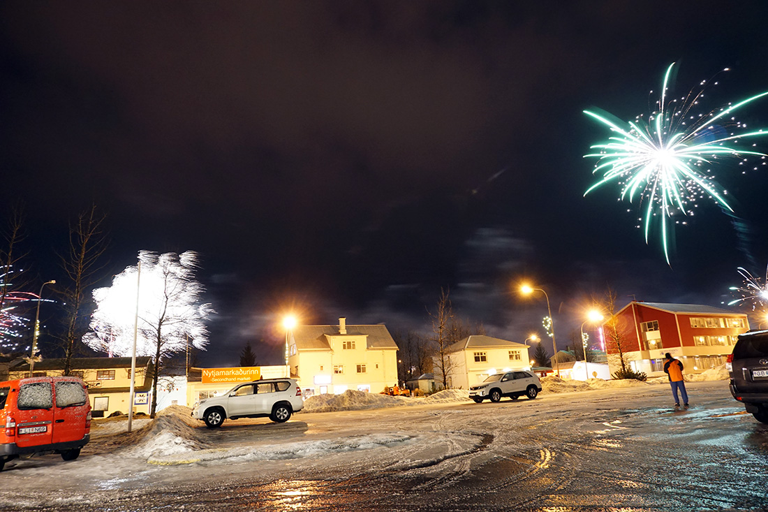 Iceland New Year Fireworks 2