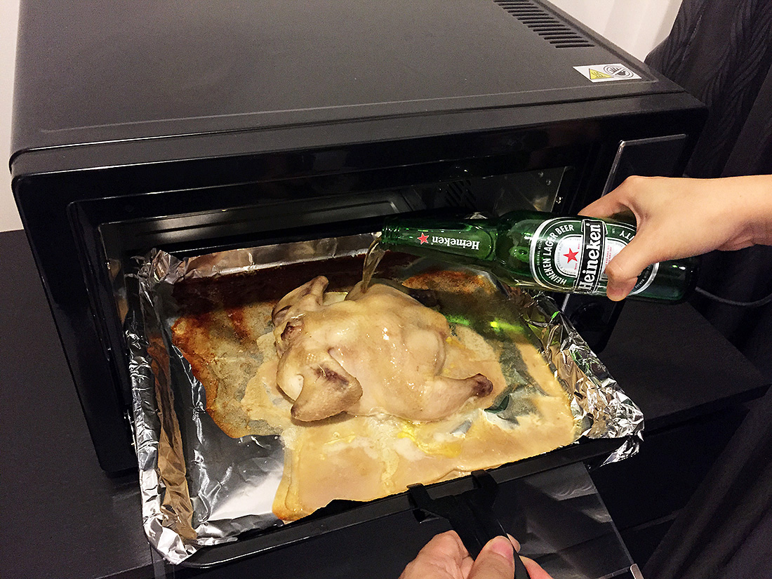 Roast Chicken with Beer 9