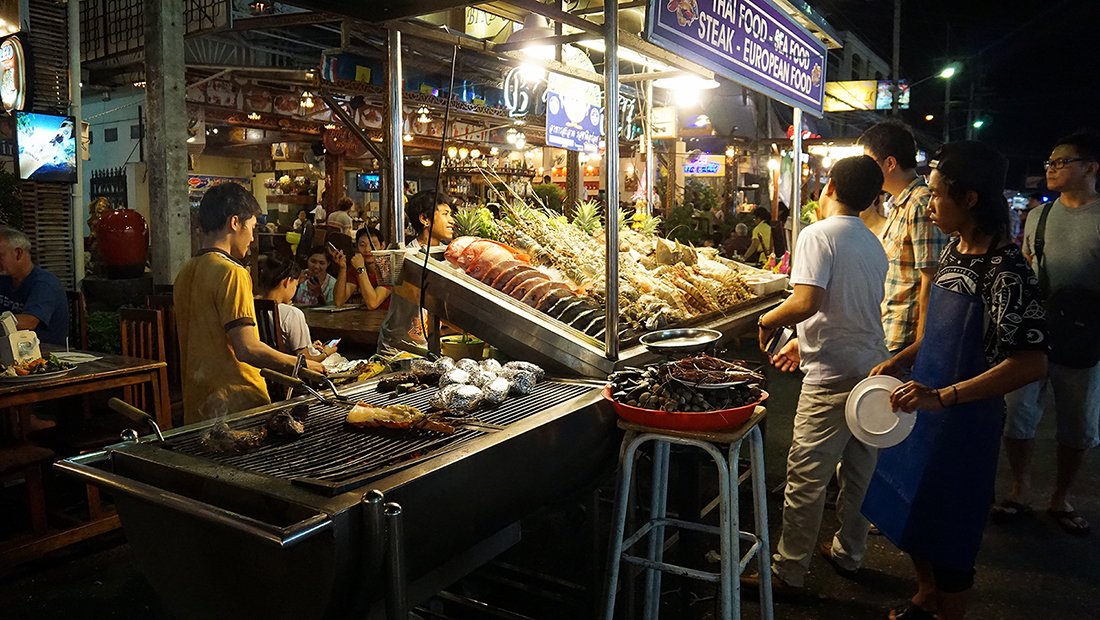 Lung Ja Seafood Hua Hin Night Market 10