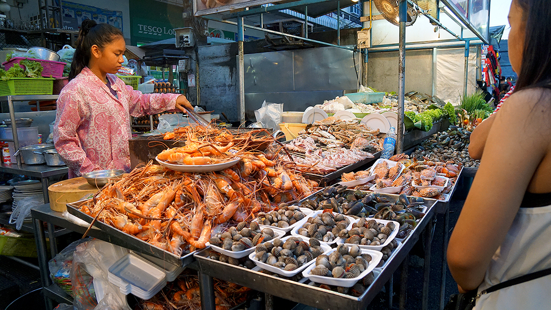 Lung Ja Seafood Hua Hin Night Market 11