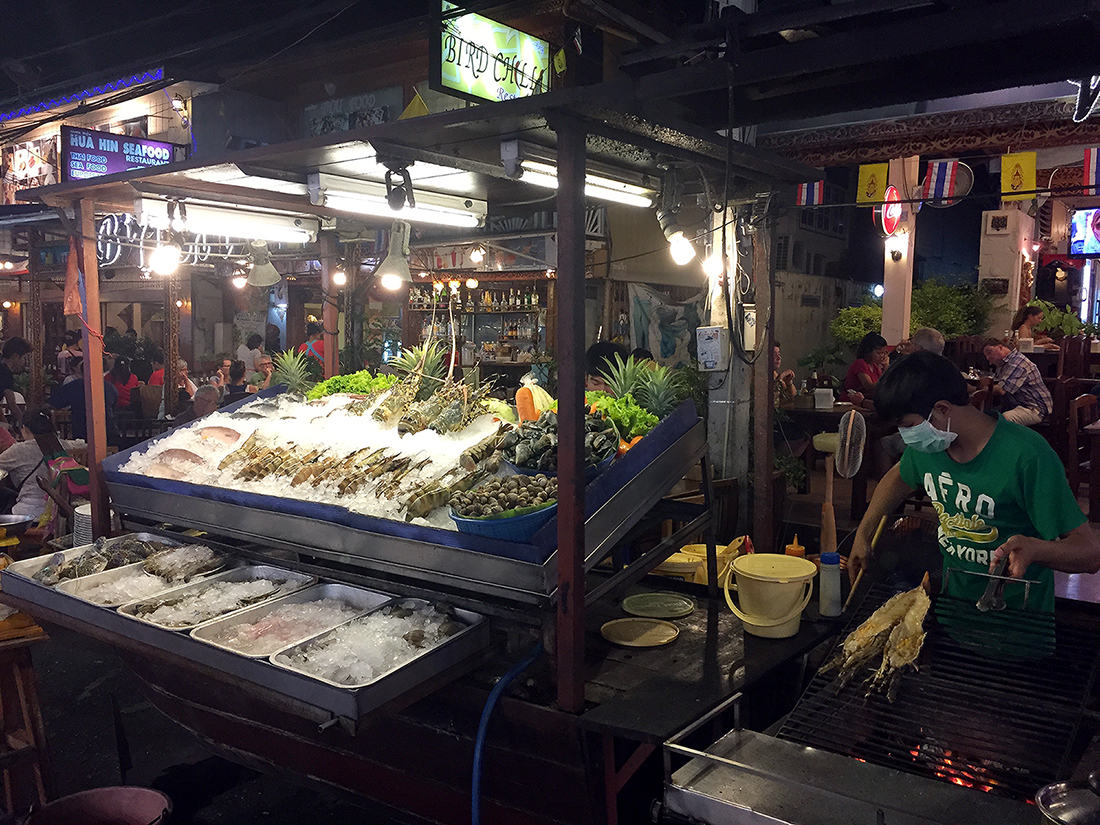 Lung Ja Seafood Hua Hin Night Market 13