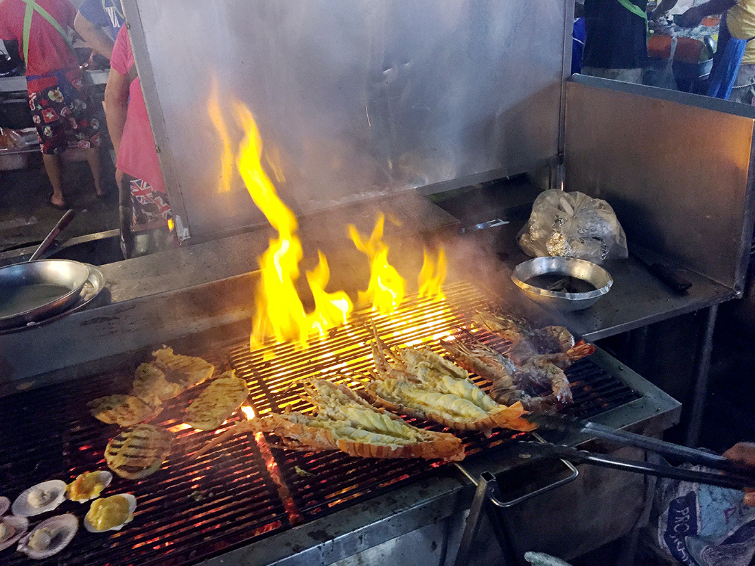 Lung Ja Seafood Hua Hin Night Market 16