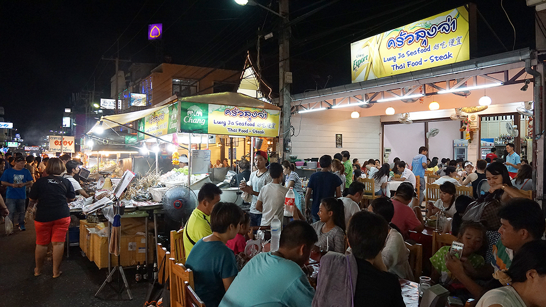 Lung Ja Seafood Hua Hin Night Market 17