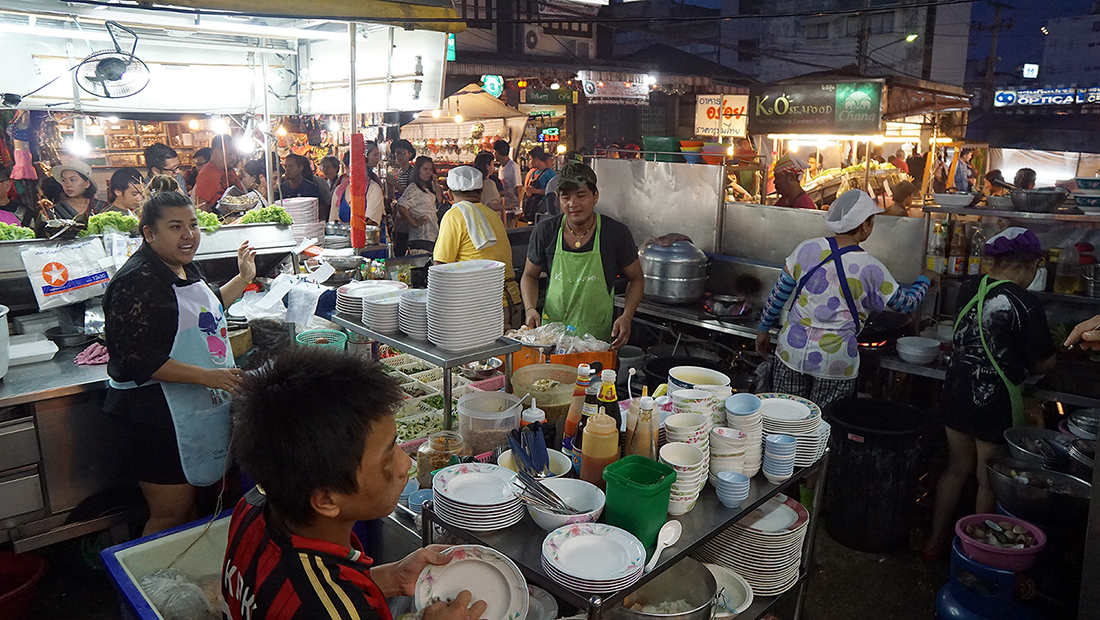 Lung Ja Seafood Hua Hin Night Market 20