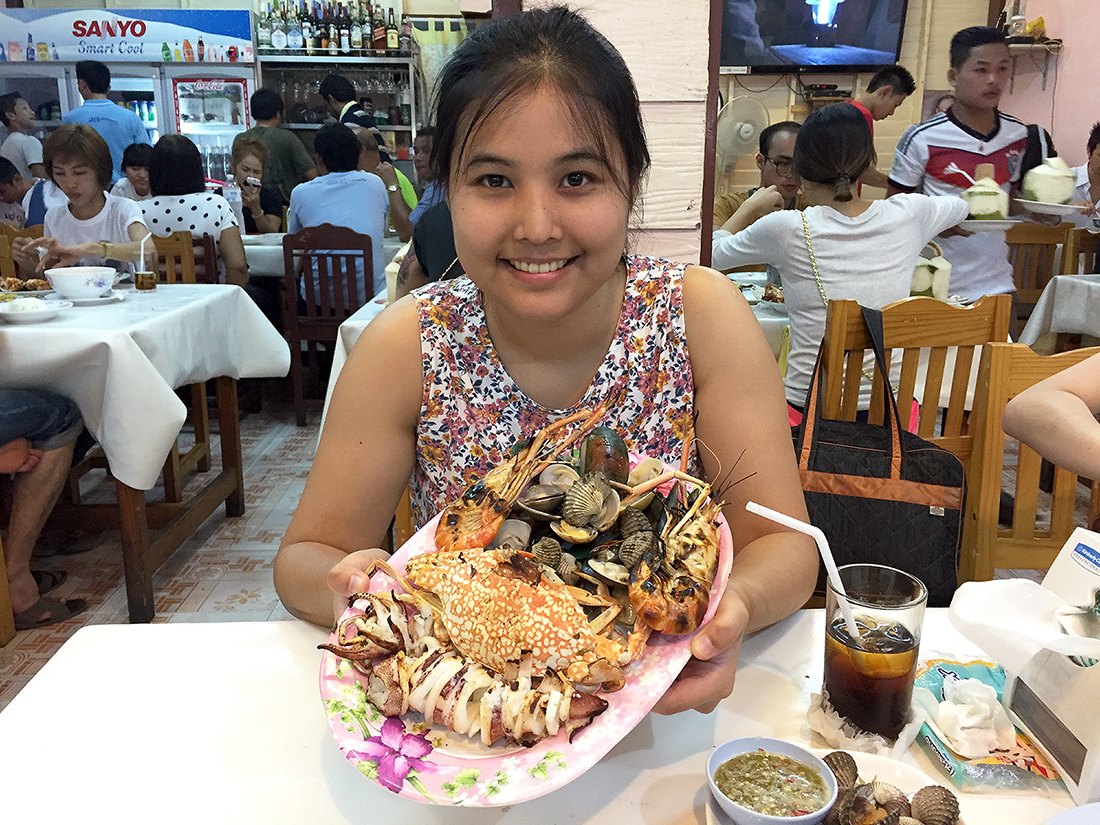 Lung Ja Seafood Hua Hin Night Market 26