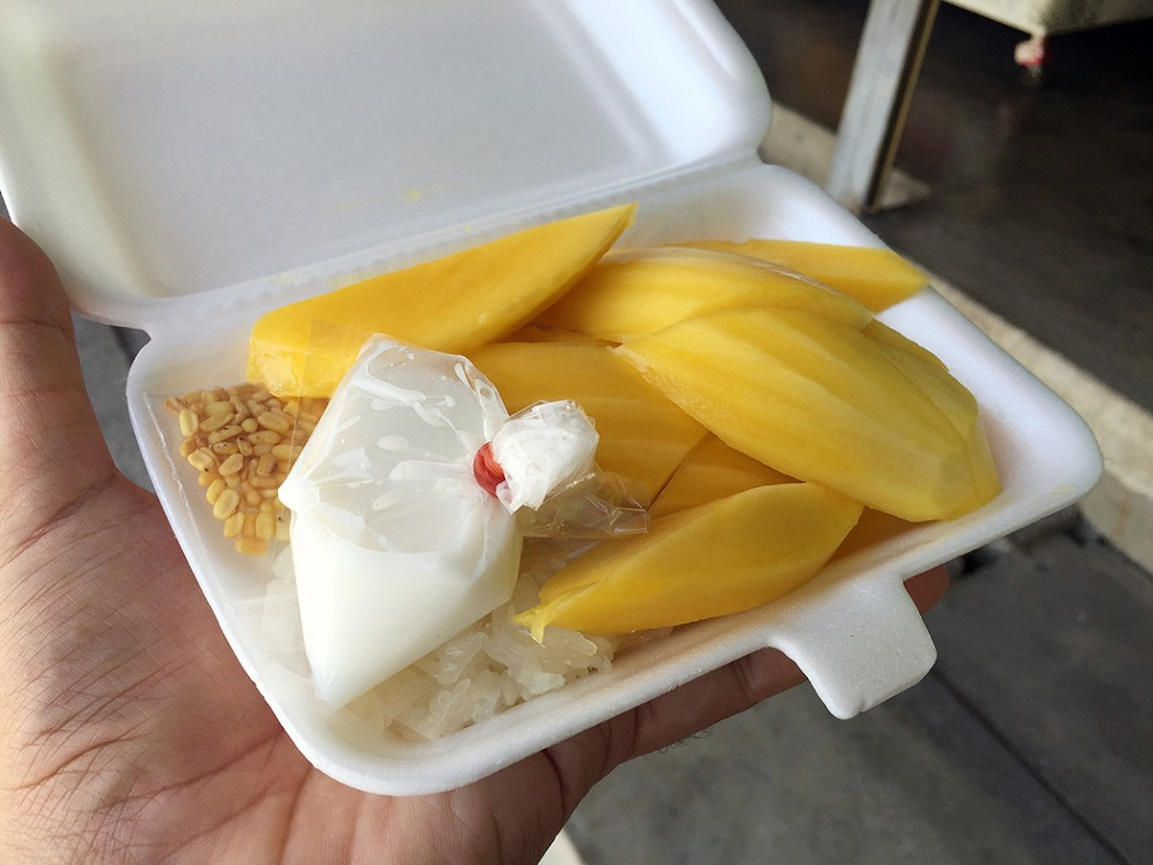 Pa Jua Ripe mango with sticky rice 15