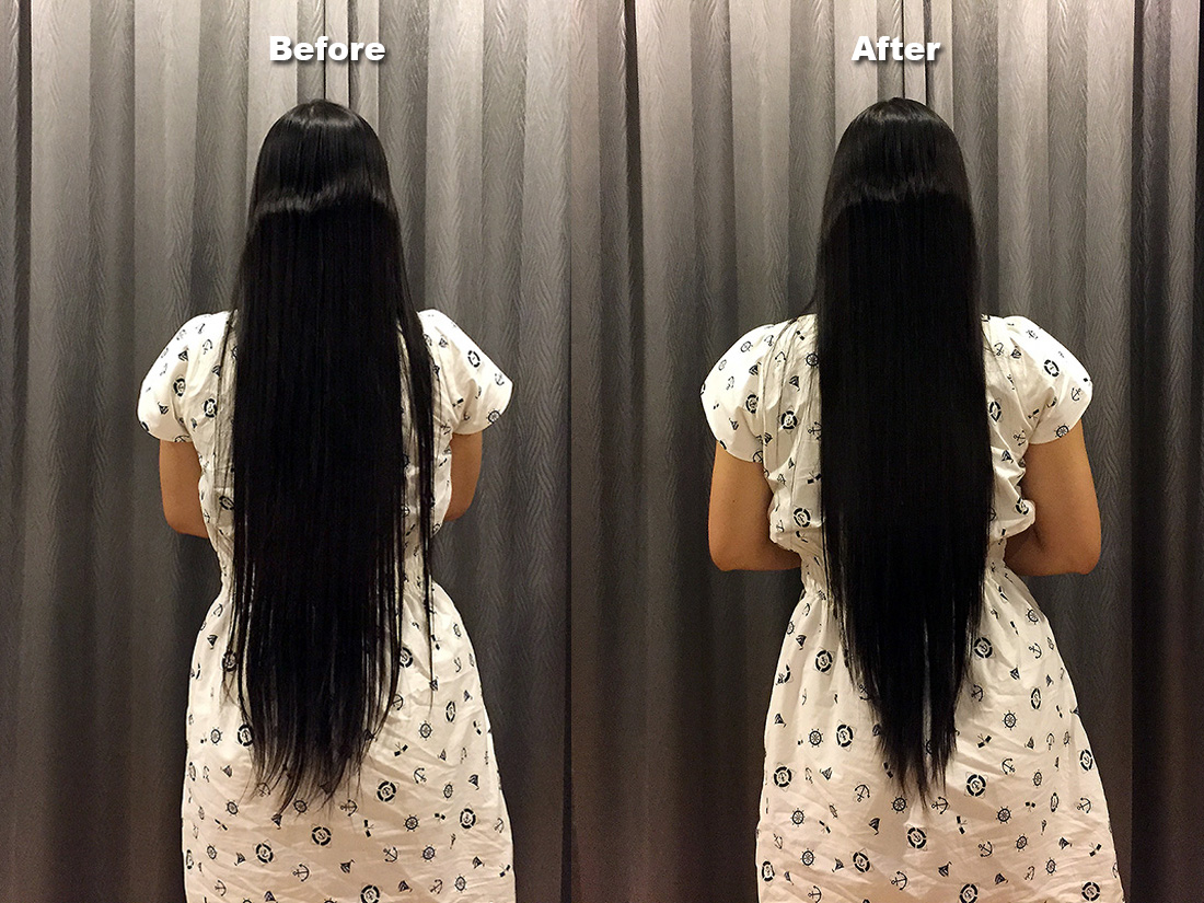 DIY Hair Cut 12