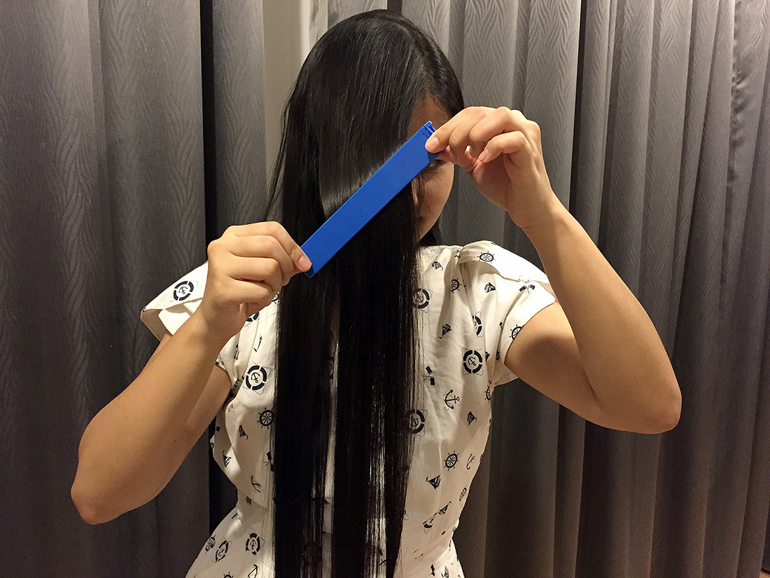 DIY Hair Cut 13