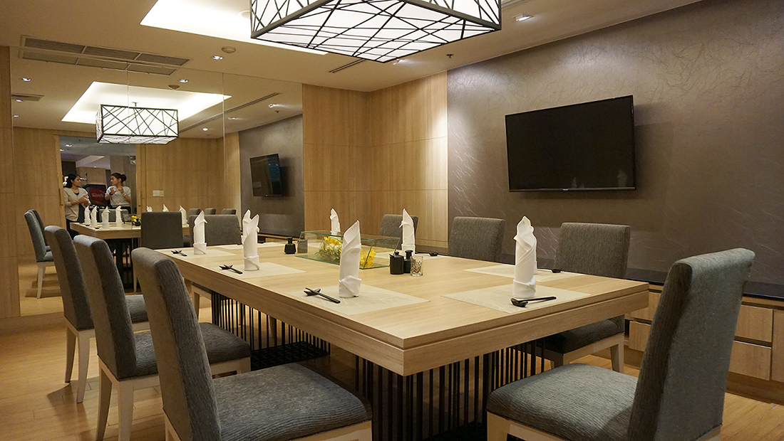 AGEHAN Japanese Restaurant Grand Mercure Bangkok Fortune 4