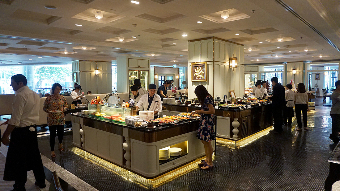 Sunday Brunch The Rain Tree Cafe Plaza Athenee Bangkok A Royal Meridien 16