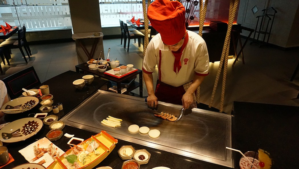 BENIHANA THE JAPANESE STEAKHOUSE AVANI Atrium Bangkok 22