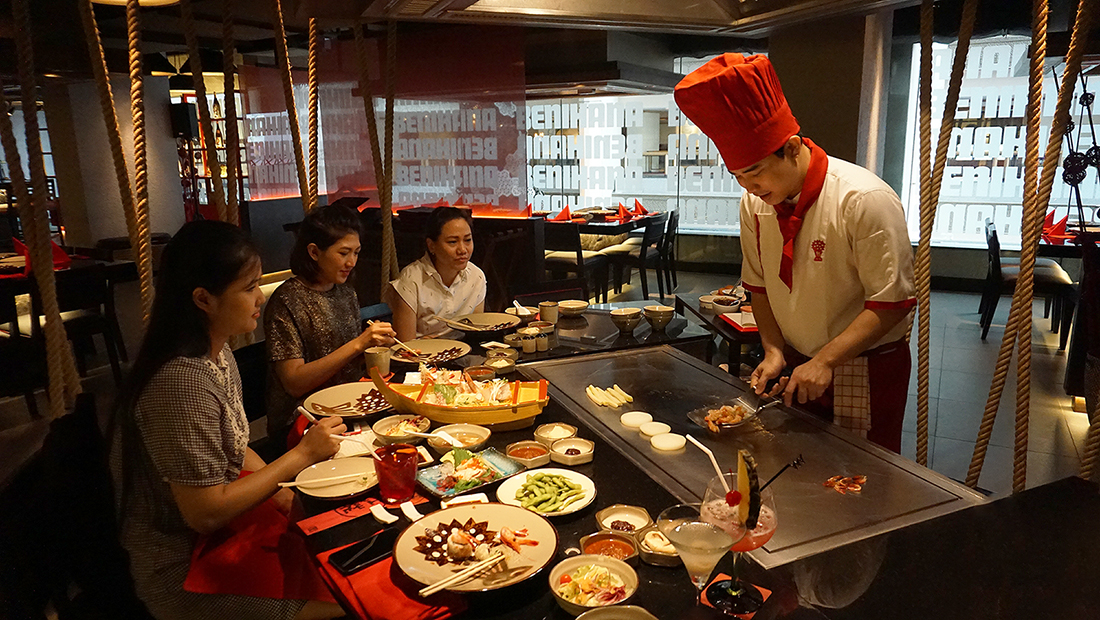 BENIHANA THE JAPANESE STEAKHOUSE AVANI Atrium Bangkok 23