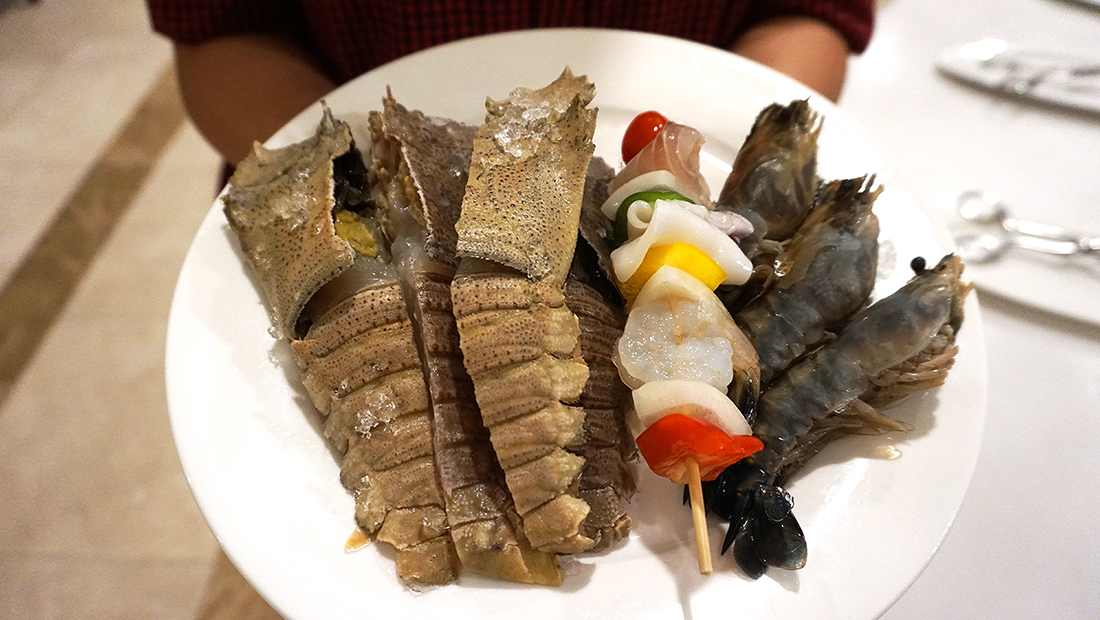 Charcoal Grill Seafood Buffet The Berkeley Hotel Pratunam 50