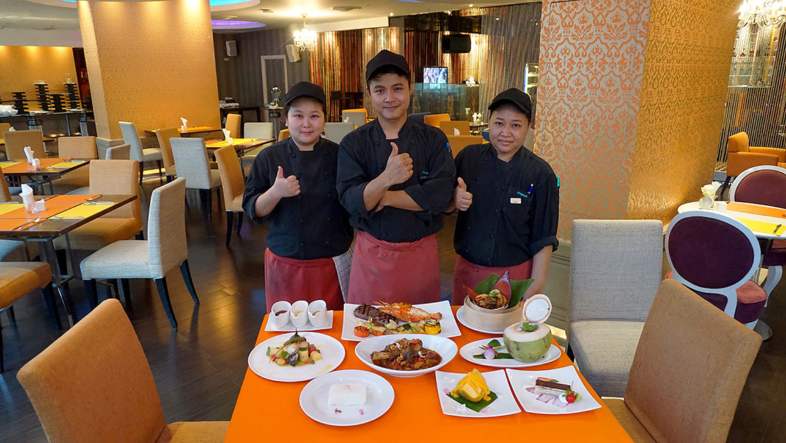 Flava Restaurant Dream Hotels Bangkok 15