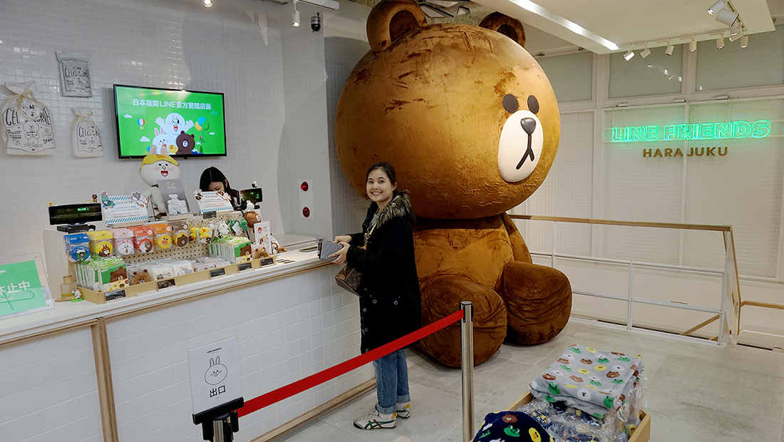 LINE FRIENDS STORE HARAJUKU 10