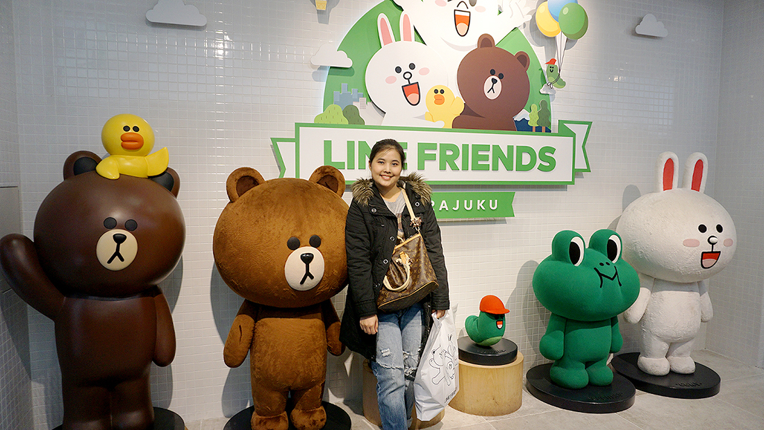 LINE FRIENDS STORE HARAJUKU 12