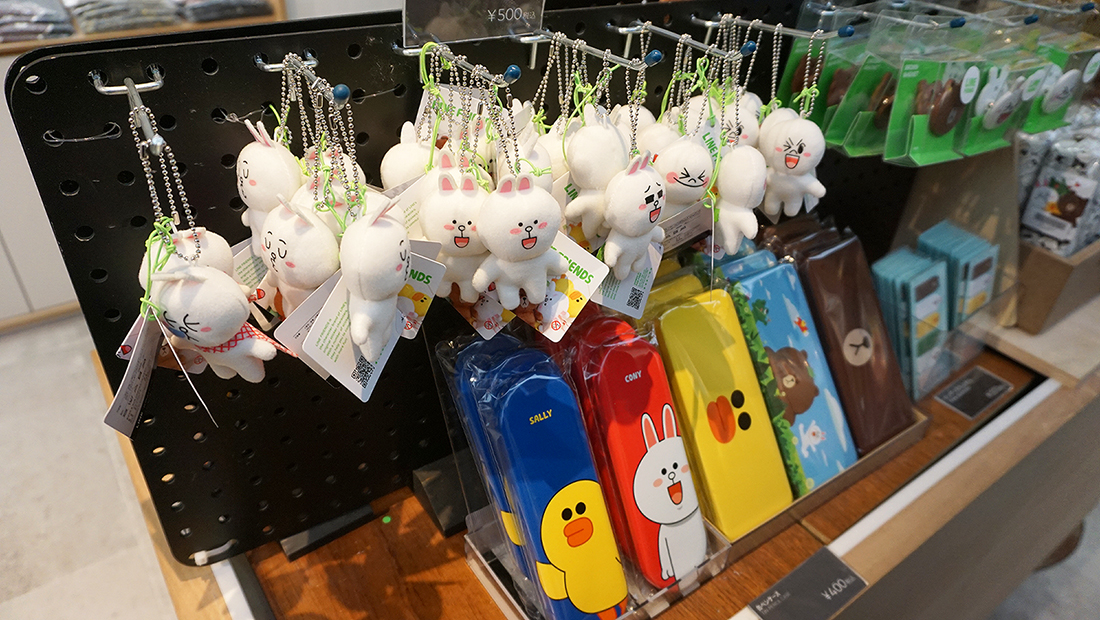 LINE FRIENDS STORE HARAJUKU 6
