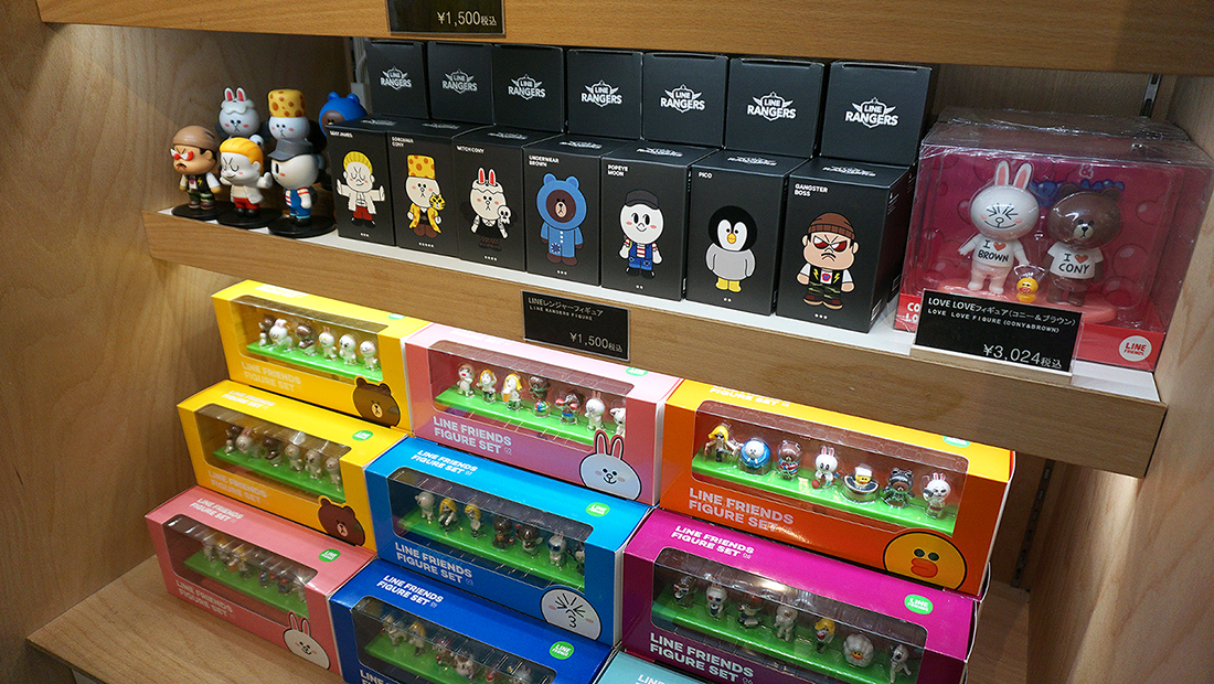 LINE FRIENDS STORE HARAJUKU 8