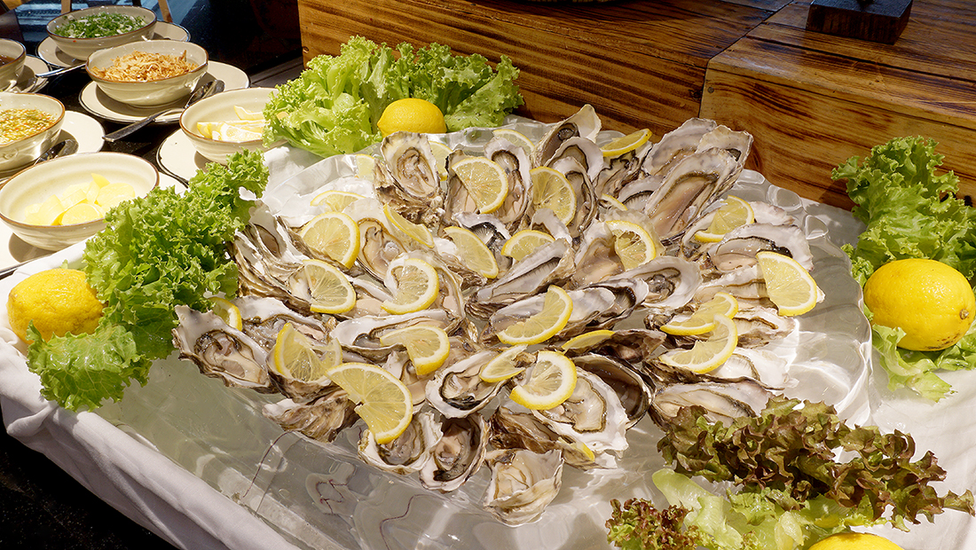 Benihana The Japanese Steakhouse AVANI Atrium Bangkok Oysters Buffet 6
