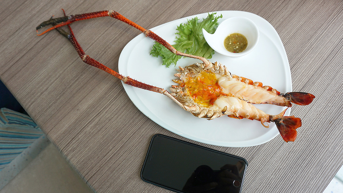 The Square Novotel Bangkok Impact Grilled Giant River Prawn 37
