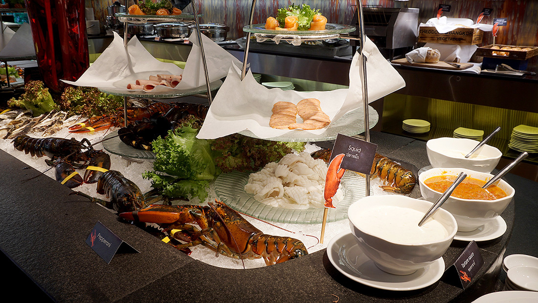 Live LOBSTER Sunday Brunch Siam at Siam Design Hotel Bangkok 4