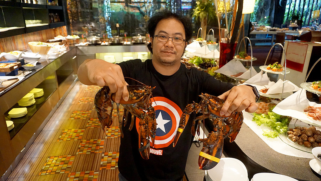 Live LOBSTER Sunday Brunch Siam at Siam Design Hotel Bangkok 5