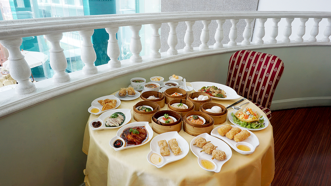 Dim Sum Buffet The Golden Palace Windsor Hotel Bangkok Sukhumvit 20 7