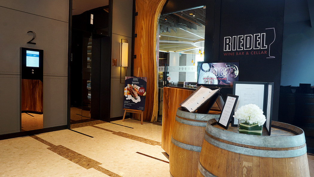 Riedel Wine Bar and Cellar 1