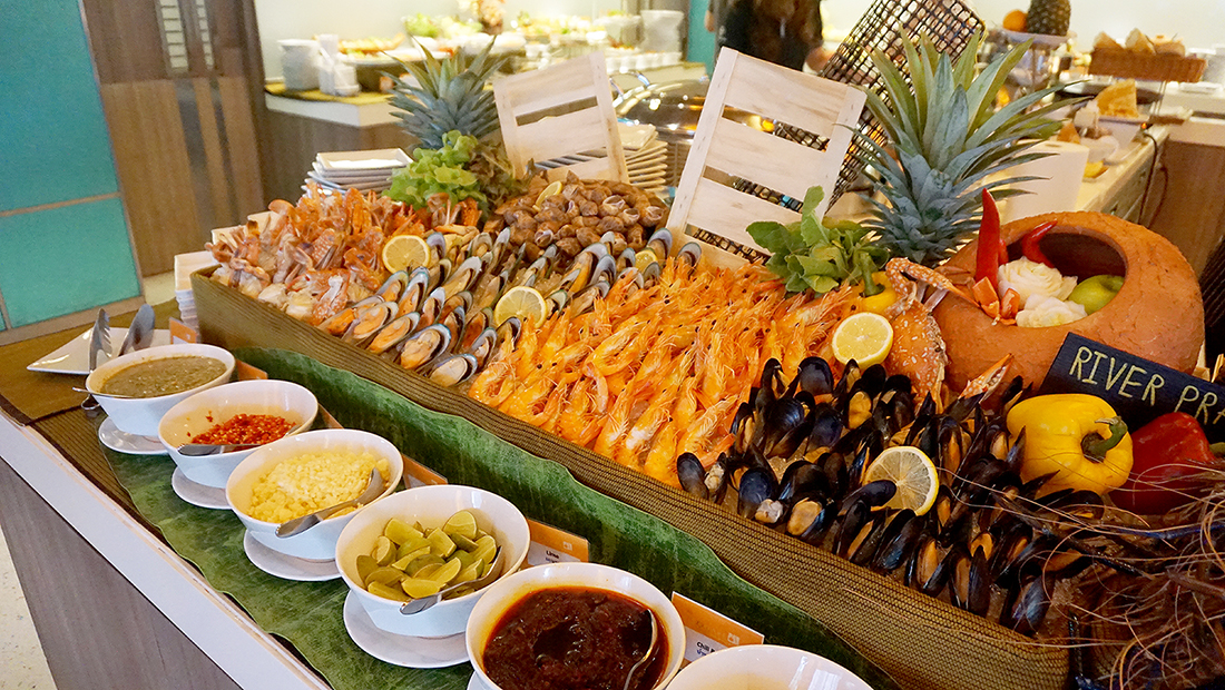 Novotel Bangkok Impact The Square Weekend Seafood Buffet 1
