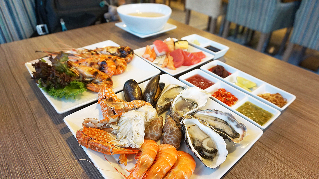 Novotel Bangkok Impact The Square Weekend Seafood Buffet 33