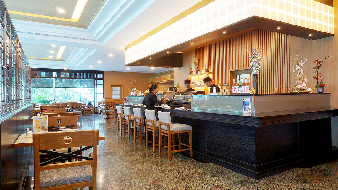 Nishiki Japanese Restaurant Golden Tulip Sovereign Hotel Bangkok 5