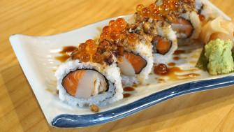 กินอาหารญี่ปุ่นแบบ DIY ชอบกินอะไร เลือกเองได้ วัตถุดิบ Premium ลองกันมะที่ Taiyo Sushi @เจริญกรุง