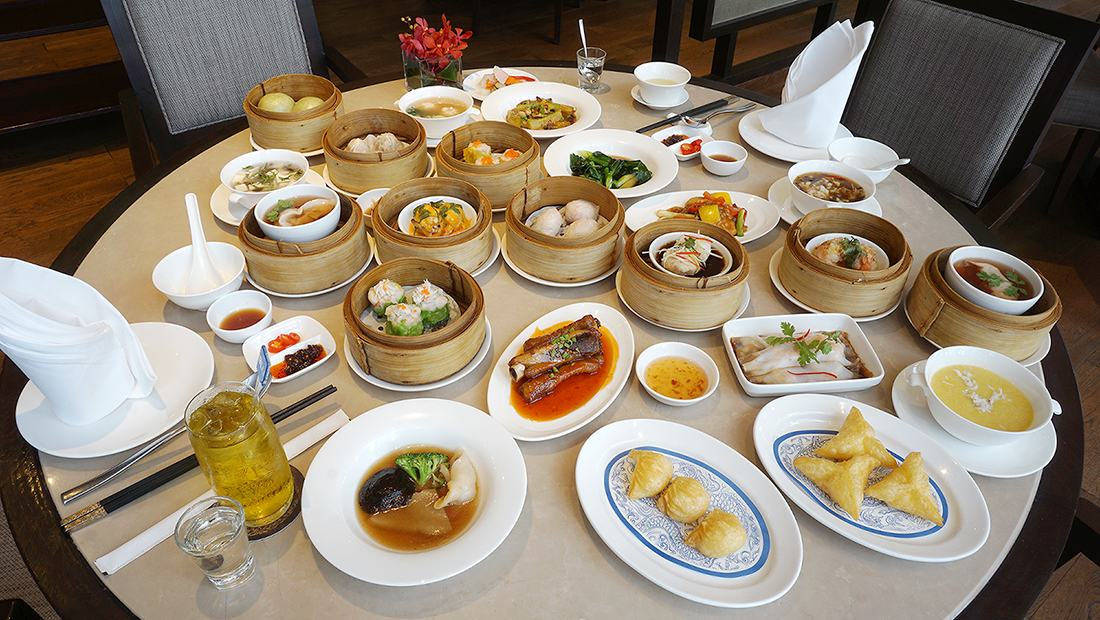 Buffet Dim Sum China Table Radisson Blu Plaza Bangkok 12