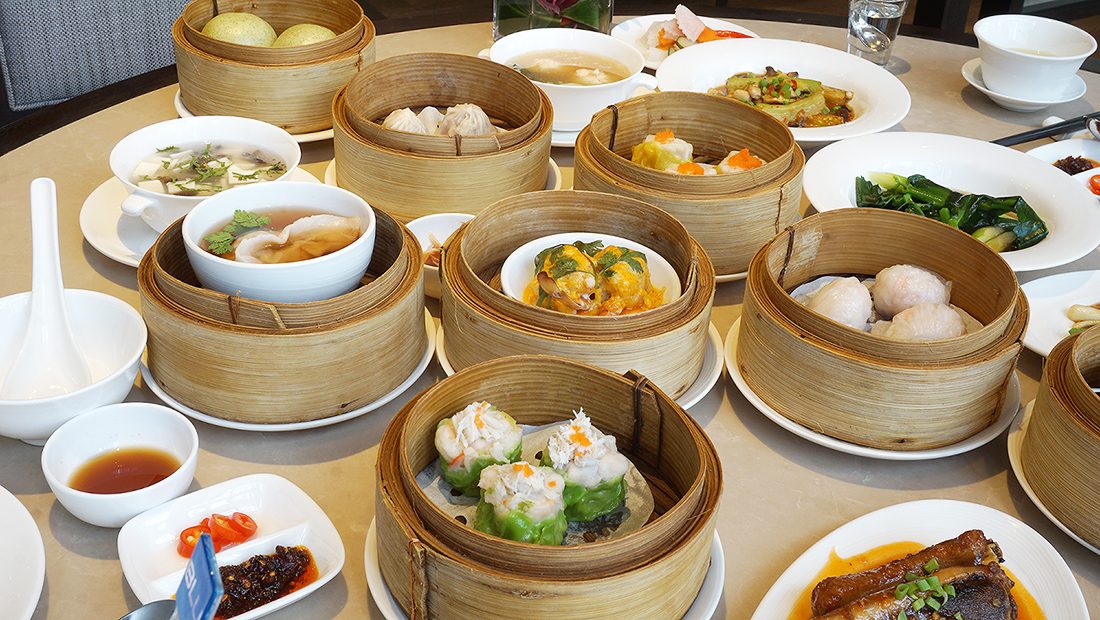 Buffet Dim Sum China Table Radisson Blu Plaza Bangkok 13