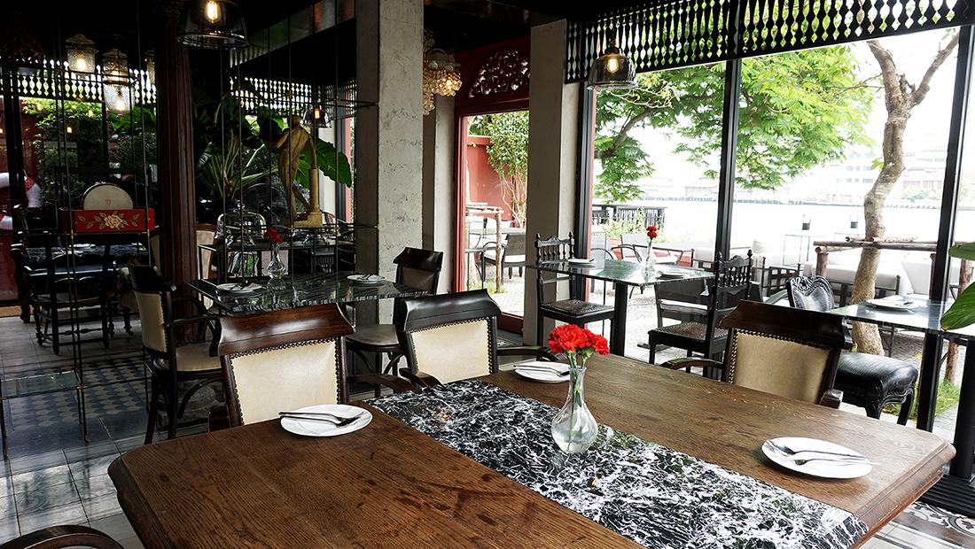 NYE Cafestaurant AMDAENG Bangkok Riverside Hotel 2