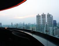 นั่งชิล AIRE BAR RoofTop Bar ชั้น 28  HYATT PLACE BANGKOK สุขุมวิท 24 บรรยากาศดี๊ดี