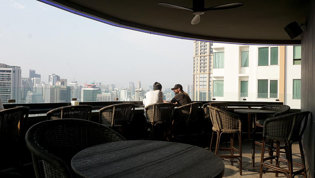 AIRE BAR RoofTop Bar HYATT PLACE BANGKOK 2